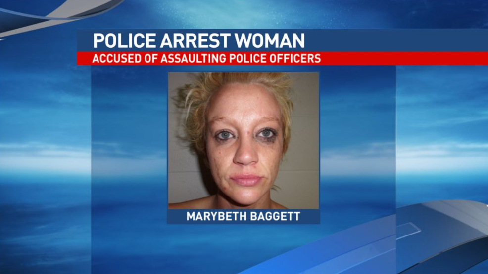 Randolph County woman accused of assaulting two police