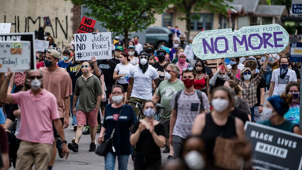 Floyd death protests turn violent in Kansas City, Ferguson   KRCG