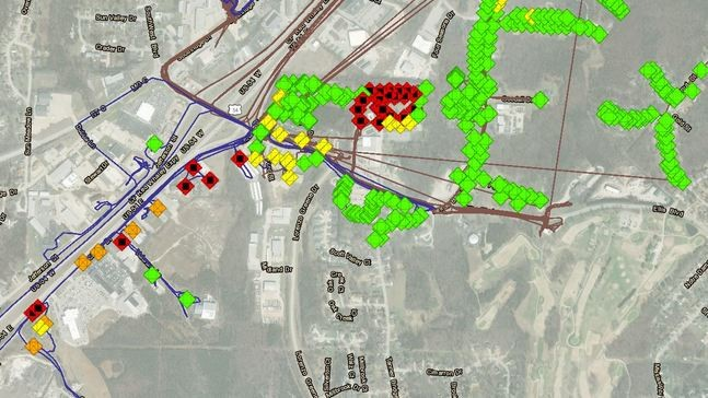 Search and rescue teams map structural damage in Jefferson ...