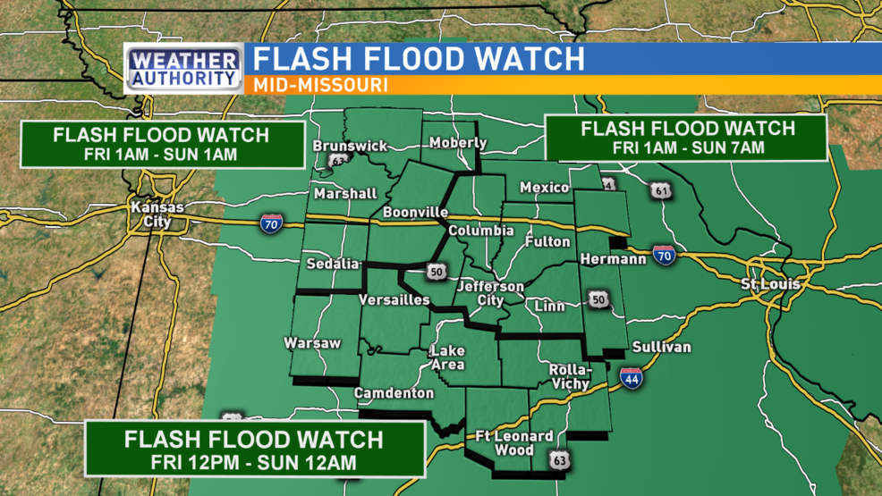 Flash Flood Watch issued for mid-Missouri counties | KRCG on haunted cemeteries in missouri, most haunted places in missouri, haunted hill waynesville missouri, lower ford road missouri, haunted roads in missouri, haunted caves in missouri, abandoned places in missouri, odd fellows home liberty missouri, polo missouri, cuba missouri, haunted mansion in missouri, fear house union missouri, lilac hill fayette missouri, upper blackwell road missouri, abandoned asylums in missouri, haunted bridges in missouri, haunted blackwell missouri, scariest places in missouri, ghosts in missouri, the word missouri,